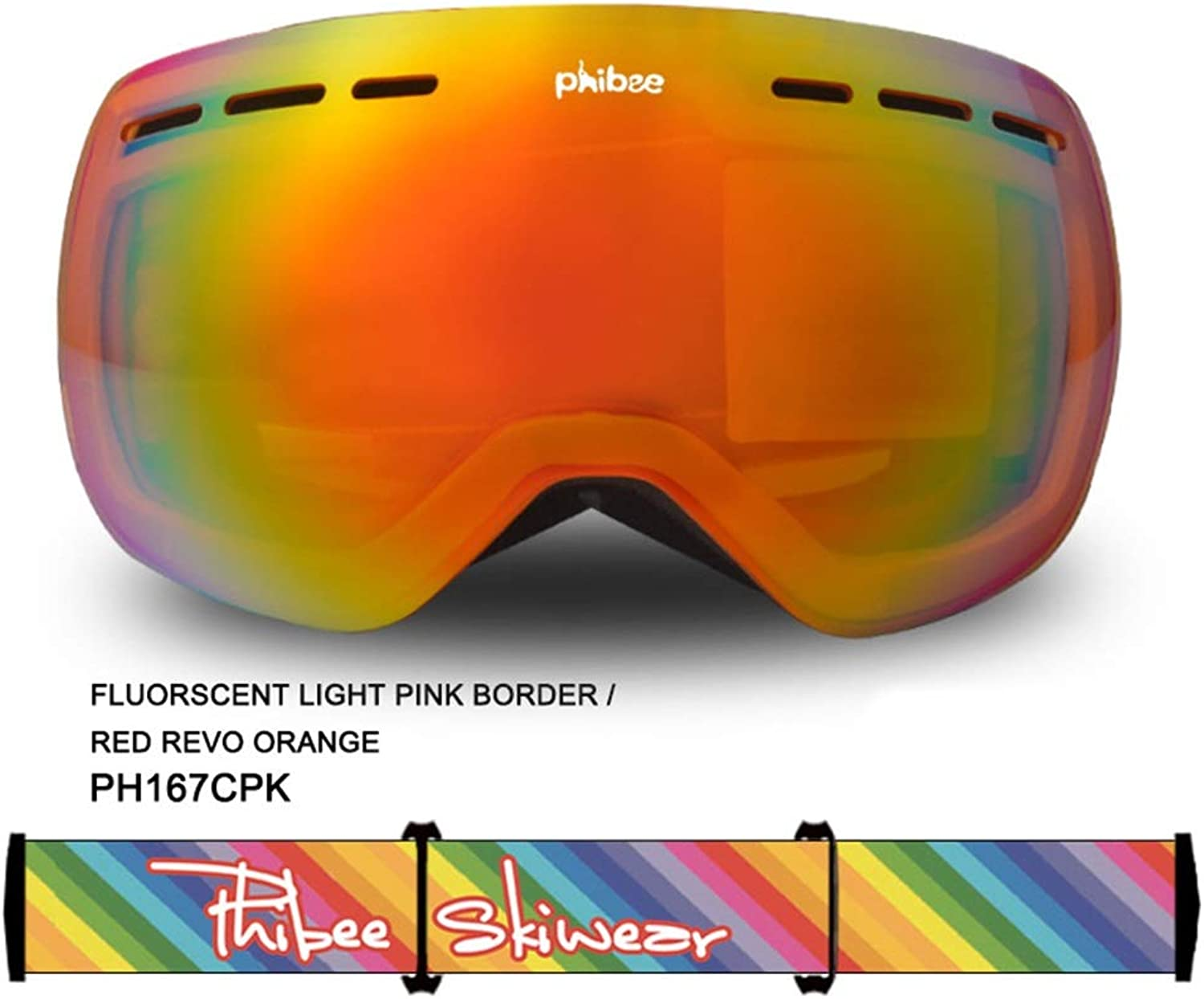 Yamyannie Skibrille mit Anti-Fog, Kinderschutzbrillen Große sphärische Doppel-Anti-Fog-Skibrille True True True Rove Mountain Goggles Windproof Eye Protection B07MQT56TZ  Kaufen 65006a