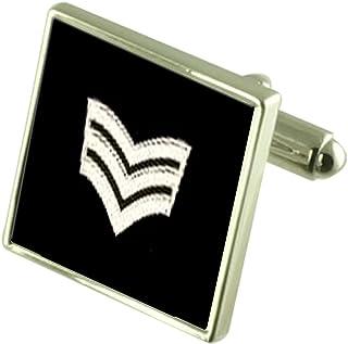 Select Gifts Royal Navy Insignia Rank Sub Lieutenant Tie Clip Engraved Personalised Box