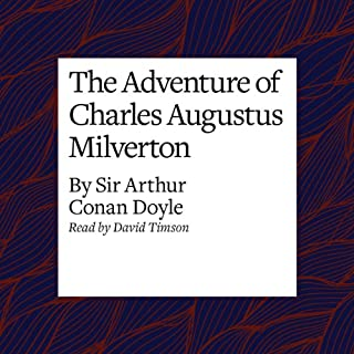 The Adventure of Charles Augustus Milverton cover art