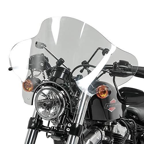 Windschild Batwing für Honda Shadow VT 750 Spirit 07-13 klar