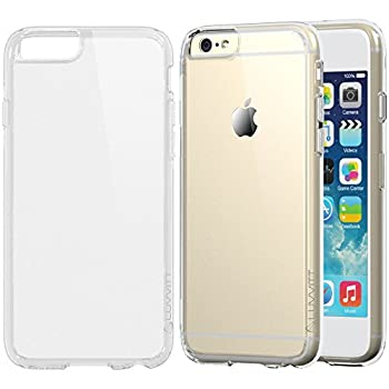 iPhone 6s Case Clear LUVVITT [Clearview] Hybrid Scratch Resistant Back Cover with Shock Absorbing Bumper for Apple iPhone 6/6s  4.7  - Crystal Clear