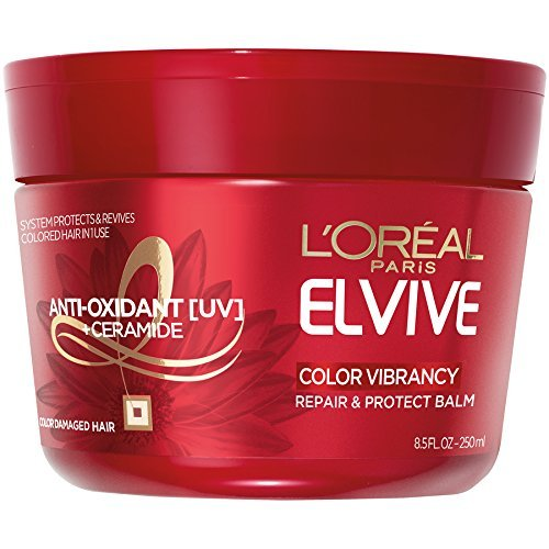 L'Oreal Award-winning store Paris Elvive Color Vibrancy 8.5 and Protect Balm OFFer Repair