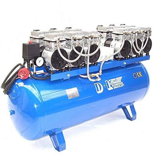 Druckluft Kompressor Silent Leise V12 540/8/150W Ölfrei Flüster Kompressor 6PS AWZ