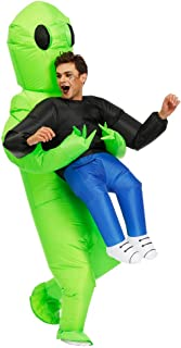 Kooy Inflatable Alien Costume for Adult (Adult - Et Alien)
