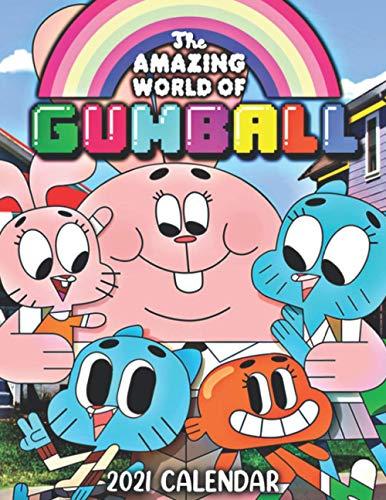 The Amazing World of Gumball 2021 Calendar