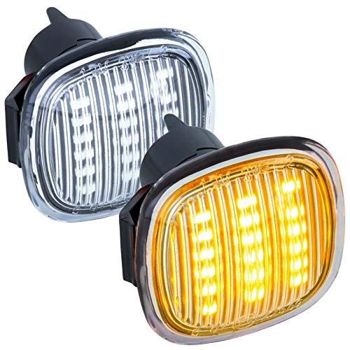 phil trade LED SEITENBLINKER klarglas kompatibel für A3 8L, A4 B5, A8 D2 | Ibiza 6K [7317]