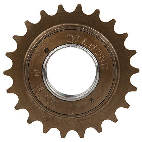 Demeras Fahrrad 22T Schwungrad Metall Korrosionsbeständig Hohe Haltbarkeit Geräuscharmes Fahrrad Radfahren Modifiziertes Zubehör