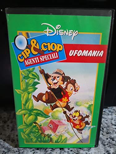 Vhs Cip e Ciop Agenti speciali - 1996- Ufomania Cartoni animati di Walt Disney