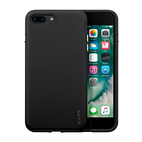 Capa Protetora, Shield Preta com Pelicula, Iphone 7/8 Plus, Laut, Capa Protetora para Celular, Preta