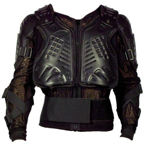 Protektorenhemd Modeka 6982 schwarz, XXL