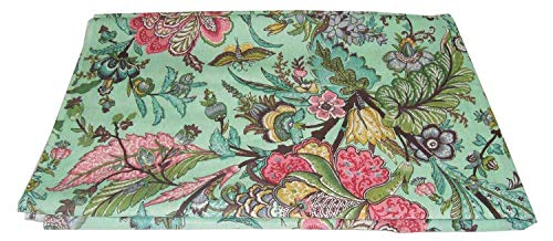 Tejidos impresos hechos a mano indios Tejido de costura 100% algodón Tejido Material de costura Medidor de tela de 2,5 metros para coser tela india por metro