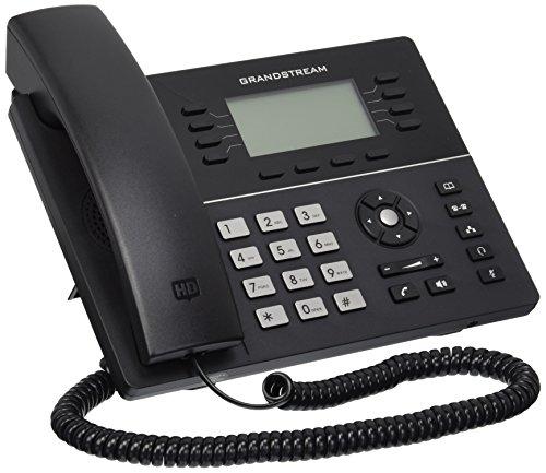 Oferta de Grandstream Networks GXP-1782 - Teléfono IP (Negro, Terminal con conexión por Cable, LCD, 8 líneas, 2000 entradas, G.711Mu,G.722,G.723,G.726,G.729A,G.729B)