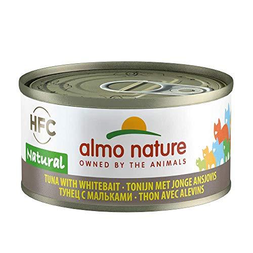almo nature HFC Natural 70 g - Thon & Jeunes Anchois - 24 x 70 g
