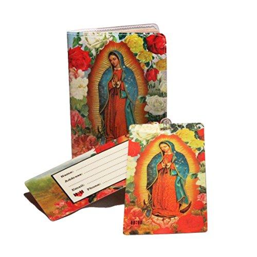 Unknown TS-Gods, Unisex, Erwachsene (nur Gepäck) Reisepasshülle Holy Mary Einheitsgröße