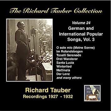 The Richard Tauber Collection, Vol. 24: German & International Popular Songs, Vol. 3 (Recordings 1927-1932)
