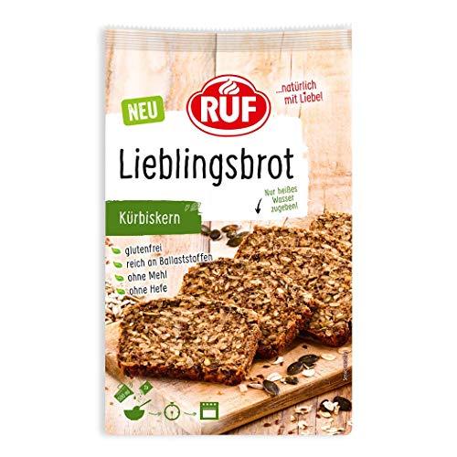 RUF Lieblings-Brot Kürbiskern glutenfrei ohne Mehl und Hefe, 600 g