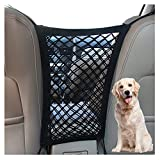 DYKESON Dog Car Net Barrier Pet Barrier with Auto Safety Mesh Organizer Baby Stretchable Storage Bag Universal for Cars,...