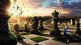 WANXM Rompecabezas de Madera 4000 Ajedrez de Pavo Real Surrealista de Gran tamaño 4000 Piezas de Rompecabezas de Madera, Decoraciones hogar