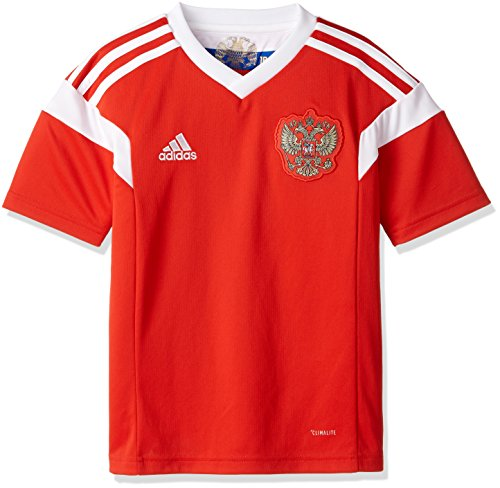 adidas Russia Home Jersey Mens World Cup 2018 Youth. (YXL) Red