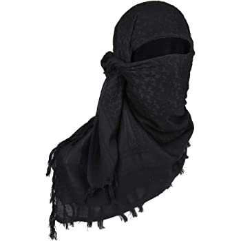 TG Shemagh Tactical Scarf Military Keffiyeh Shawl Neck Head Wrap 100% Cotton