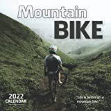 Mountain Bike 2022 Calendar: Mini Calendar 2022 with Large Grid for Note - To do list, Gorgeous 7x7'' Small Calendar, Non-Glossy Paper