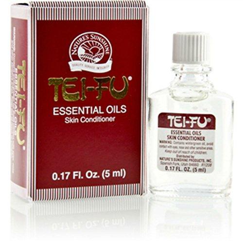 Naturessunshine Tei Fu Essential Oil Skin Conditioner 0.17 fl. oz (Pack of 4)