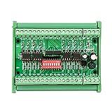 Level Translator, 5V / 24V Convertitore di livello di tensione a 8 canali Modulo di convertitore di segnale PNP NPN ad onda quadra, scheda convertitore di tensione, 10MHZ