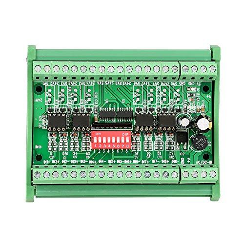 10MHZ 8 canales de NPN/PNP a NPN 5V / 24V Módulo convertidor de nivel conversión de señal de onda cuadrada