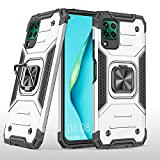 LUSHENG Compatible avec Huawei P40 Lite Coque, Antichoc Lourd Devoir Protection Coque pour Huawei...