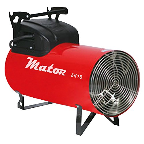 MATOR Generador de Aire Caliente - EK15C, Aerotermo eléctrico 10-15kW, 400V
