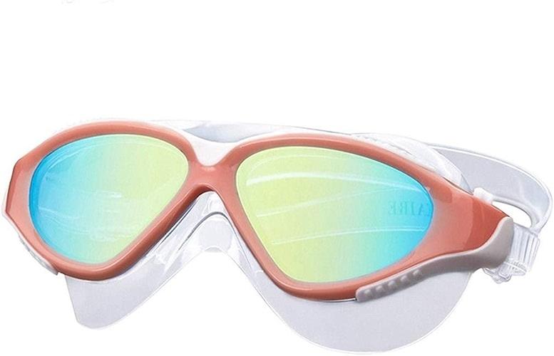 XSWZAQ Nouveau Grand Masque de Prougeection imperméable et Anti-buée HD Lunettes de Natation Professionnelles pour galvanoplascravate (Couleur   B)