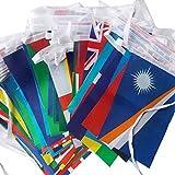 REFURBISHHOUSE 1 Satz Verschiedene Laender Haengen Flagge/Banner Buero und bar und Hotel und Home Dekoration Aktivitaet und wk internationalen Welt Banner 25 Mt