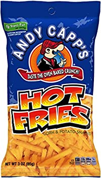 12-Pack Andy Capp's Hot Fries, 3-Ounce Bags