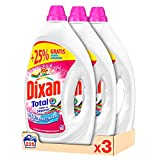 Dixan Detergente Líquido Adiós Al Separar para Lavadora - Pack de 3x75D, Total 225 Lavados (11,25 L)