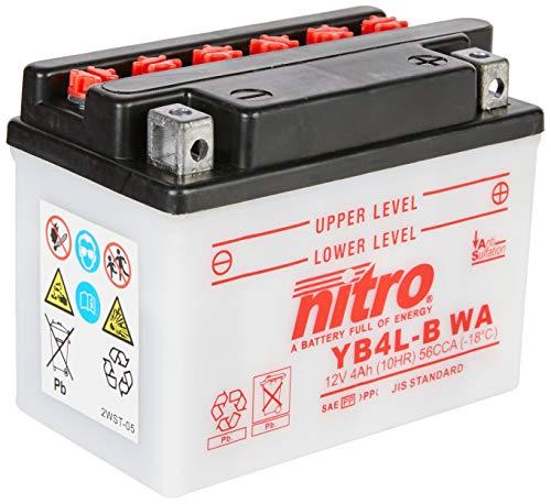 Nitro YB4L de B WA–N- Batteries Negro (Precio incluye euros 7,50pfand) ⭐