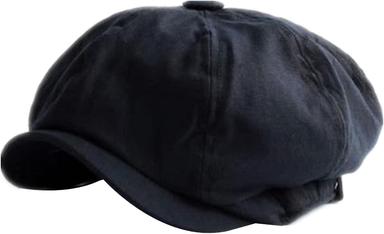 Men British Popular product Style Newsboy Cap Spring Summe Fees free Male Cotton Khaki