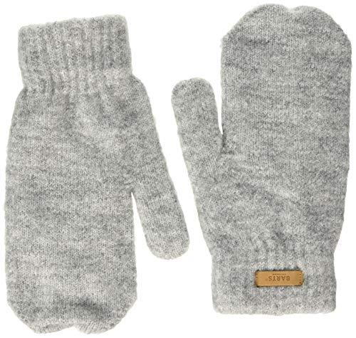 Barts Damen Witzia Mitts Fäustlinge, Grau (Heather Grey 0002), One size (Herstellergröße: UNI)