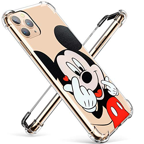 Darnew Heart Mouse Schutzhülle für iPhone 12 Pro Max Case, Karikatur Niedlich We...