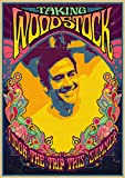 liuguangyicai Festival De Música Rock De Woodstock, Pintura En Lienzo Retro, Imagen Básica, Bar, Cafetería, Dormitorio, Sofá, Arte De Pared, Decoración del Hogar, Póster Sin Marco 40X60Cm A4715