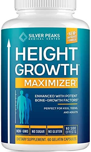 Height Growth Maximizer Natural Height Pills to Grow Taller Made in USA Growth Pills with Calcium product image