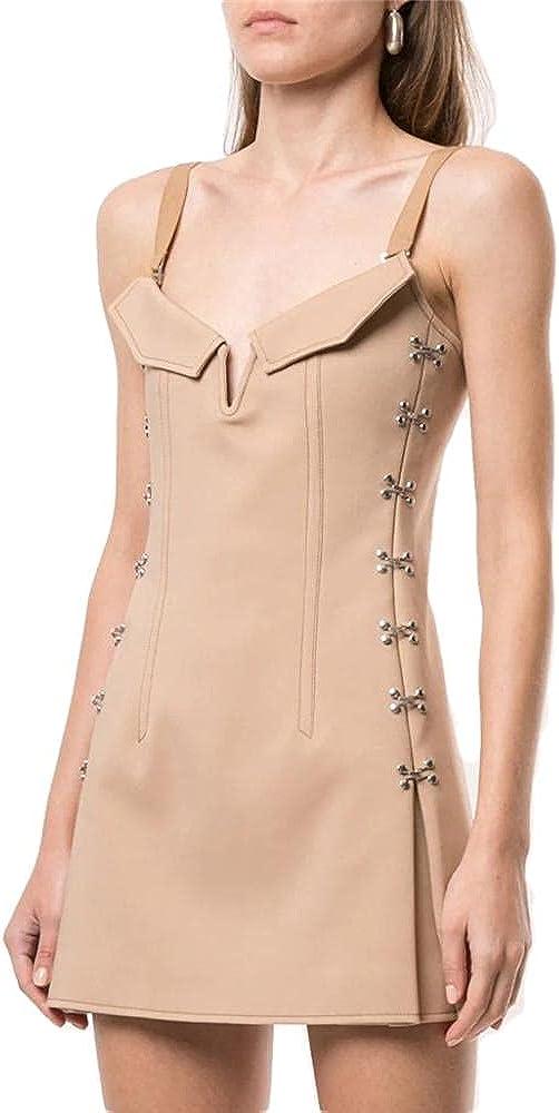 YLDCN Sales Women's Clothing Sexy Dallas Mall Dress Tube Top Shor Waist Slim Sling
