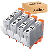 ARTITECH CLI-42 Pixma Pro-100 Ink Replacement for Canon CLI42 GY CLI-42 LGY Compatible Ink Cartridge Use for Pixma Pro-100 Pro-100s Printers 4 Value Pack (2 Gray, 2 Light Gray)