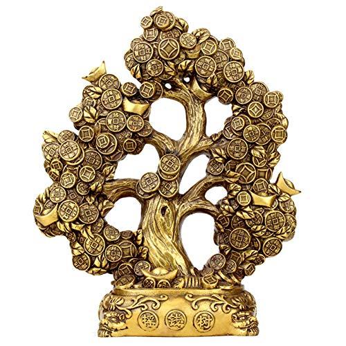YOPDNE Creatori di Soldi di Seiko della Decorazione dell'albero di Soldi di Rame Puro