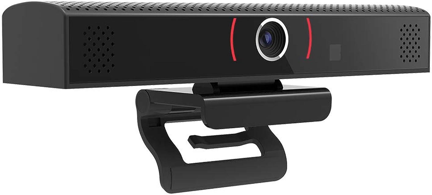 yorten Cámara Web de Gran Angular Cámara de Videoconferencia de Gran Vista Cámara Web de Transmisión en Vivo Full HD 1080P con Micrófono Incorporado