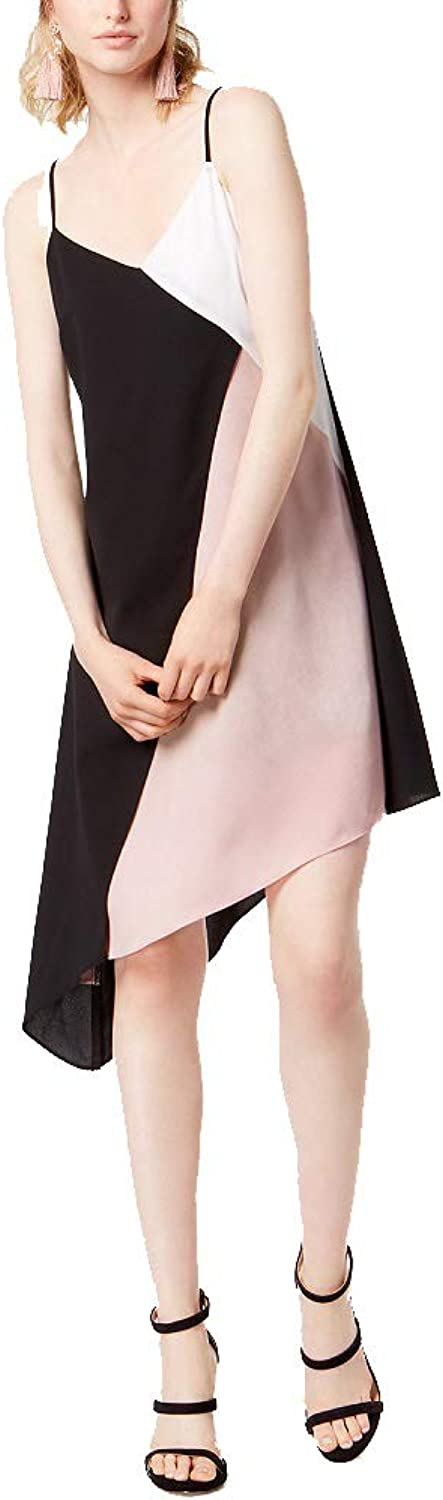 Bar III colorblocked Slip Dress