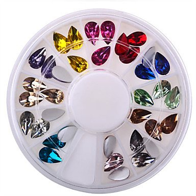 MZP 1 Manucure Dé oration strass Perles Maquillage cosmétique Nail Art Design