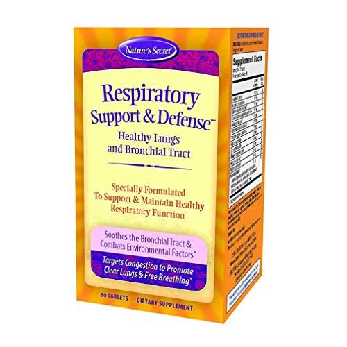 Natures Secret / Irwin Naturals Nature's Secret, Respiratory Cleanse & Defense, 60 Tablets