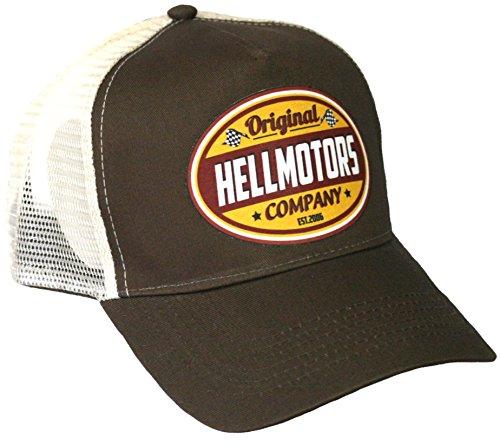 HELLMOTORS - Gorra de béisbol - para hombre marrón marrón Talla única