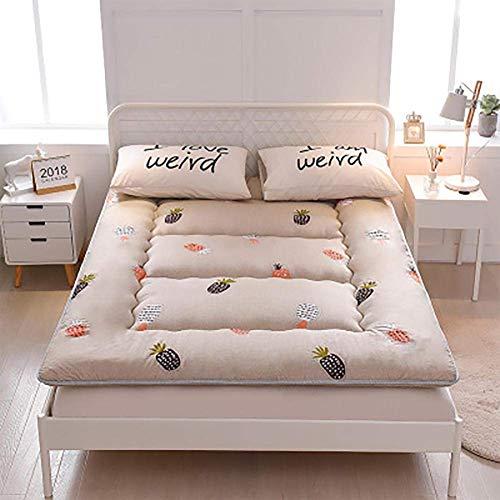 CYQ Japanese cotton mattress folding mat soft mattress thickened futon for home camping yoga tatami mat - 100x200cm / 39x79inch f