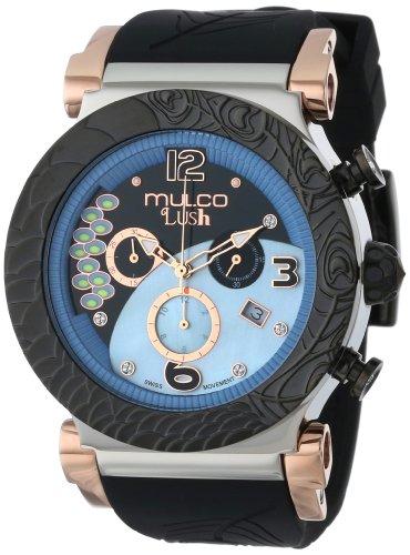 Mulco MW5-2388-026 - Reloj de Pulsera Unisex, Silicona, Color Negro